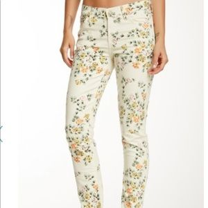 Citizens of Humanity Mandy High Waist Floral Jeans